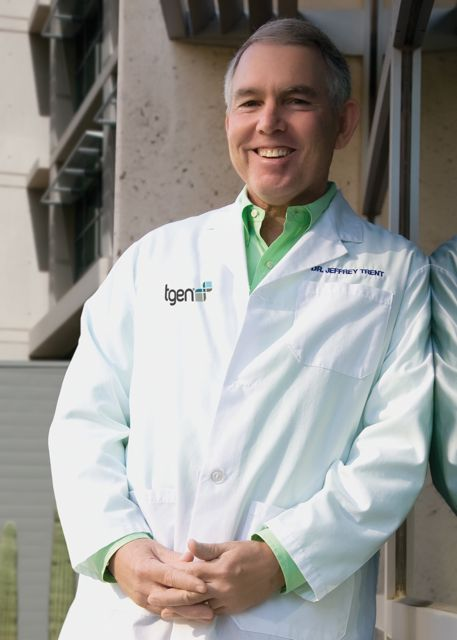 Dr Jeffrey Trent Outside TGen